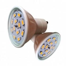 lot 2 ampoules LED GU10 5W