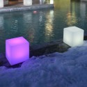 Cube lumineux rechargeable