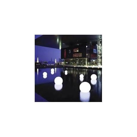 LOTde 5 sphères lumineuses rechargeables d40cm