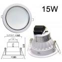 Spot LED encastrable 15W Samsung