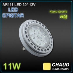 AR111 LED EPISTAR 11W 12V CHAUD