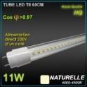 Tube T8 10W 4500K 120°230V 1000lm