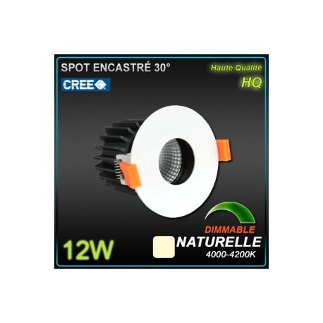 Spot 9W LED CREE 4000k 830lm 38°