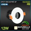 Spot 12W LED CREE 4000k 1000lm 30°