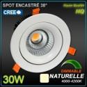 Spot 30W LED CREE 4000k 3100lm 38°