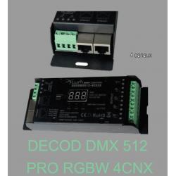 DECODEUR DMX 4 CANAUX