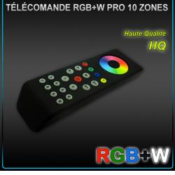Télécommande Radio RGBW 8 Zones