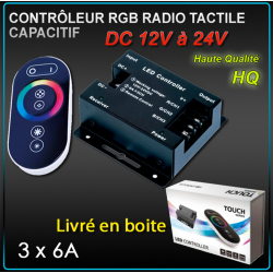 Télécommande Radio RGB 1 Zone