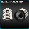 Adaptateur E40 vers E27