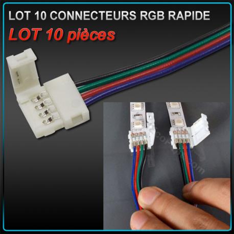 Connecteur rapide RGB
