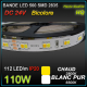 RUBAN LED BICOLORE CHAUD-BLANC 110W