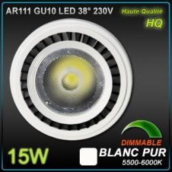 AR111 GU10 15W LED COB EPISTAR