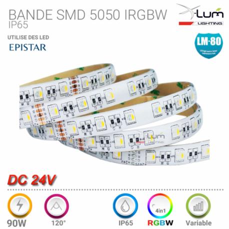 BANDE 5050 RGBW 96W