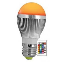 Ampoule LED E27 RGB