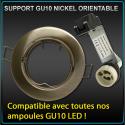 Support Spot GU10 Nickel